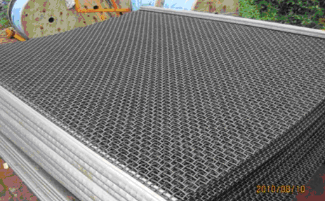 Tec-Sieve Hooked Crimped Woven Wire Screen Media for Stone Crushing