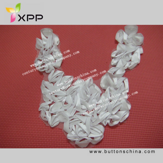 007 Necklace Collar Lace with Ribbon