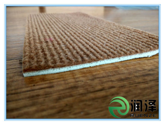 Ribbed Exhibition Carpet with Foam Backing pictures & photos