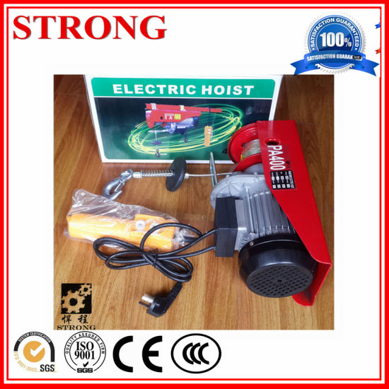 Mini Electric Hois with Copper Wire Motor pictures & photos