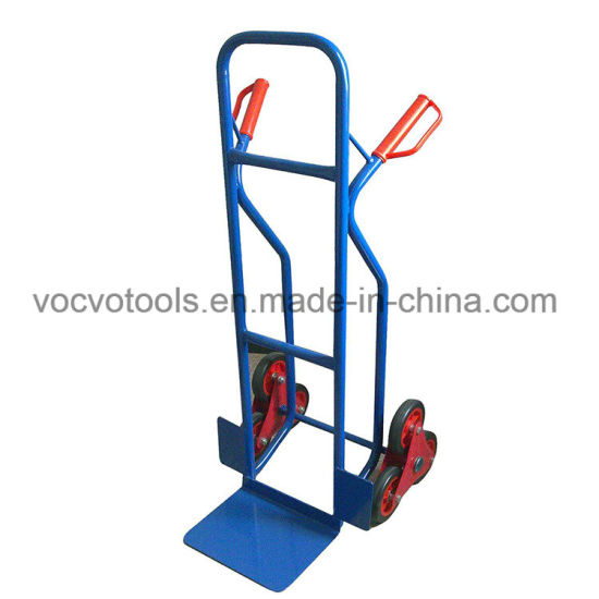 200kg Heavy Duty Six Wheel Hand Cart for Climbing Stairs Tool Trolley
