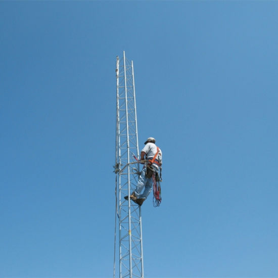 Galvanized Steel Lattice Telecom Guyed Antenna Tower pictures & photos