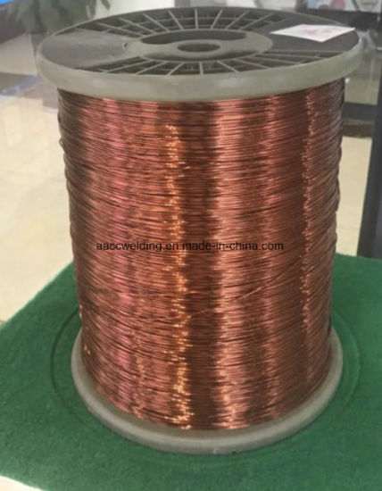 Certificated PVC Insulation Enameled Copper Clad Wire pictures & photos