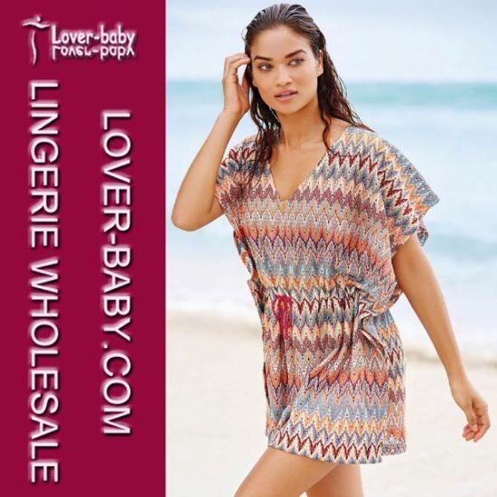 f0818a432e China Woman Beach Dress and Kaftans (L38337) - China Beach Dress ...