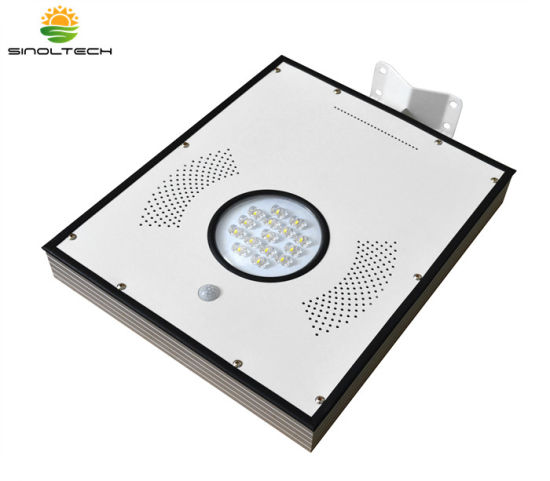 15W LED Motion Sensor All in One Integrated Solar Garden Light with Rechargeable Battery pictures & photos