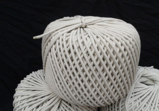 Macrame Twisted Rope, Cotton Rope, Macrame Cord for Furniture (CD005) pictures & photos