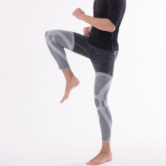 db64d9e748 Cheapest Supplier Leg Support Running Compression Basketball Leg Sleeves  Bamboo Fiber Ce FDA ISO