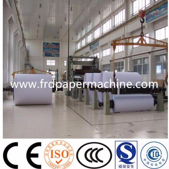 High Performance Writing Paper A4 Paper Making Machine/Culture Paper Making Machine