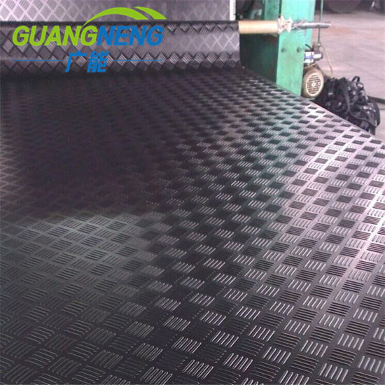 Workshop Natural Anti Slip Industrial Rubber Sheet Rubber Floor Mat