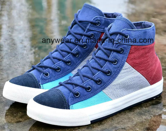 China New Design Casual Men\u2032s Canvas Sneaker Shoes (903