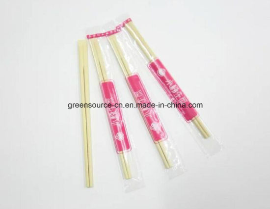 Beveled Bamboo Chopsticks pictures & photos