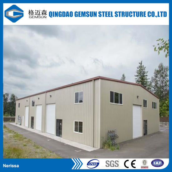 China Prefab New Design Structural Steel Frame Workshop for Sale ...