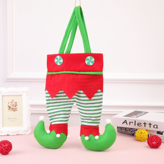 New Christmas Decorations Christmas Red Wine Bottle Bag Candy Bag Elf Gift Bag Christmas Gifts