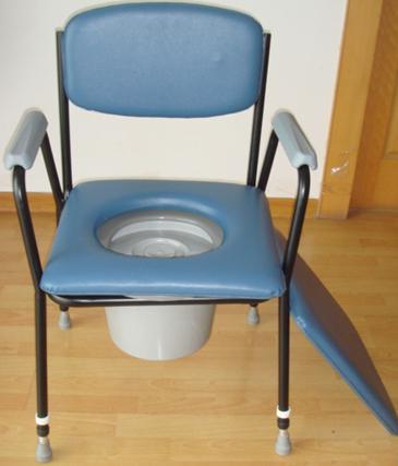 Ce FDA Steel High Quality Commode Chair for Elderly People
