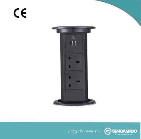 Automatic Pop up Power Desktop Socket