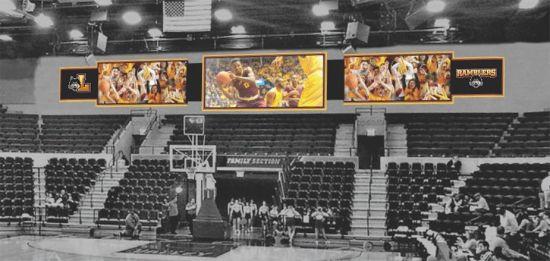 P20 Sports Stadium Perimeter Full Color LED Video Display Screen
