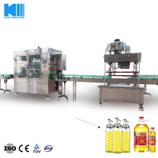 China Vegetable Oil Filling Machine Processing Bottle