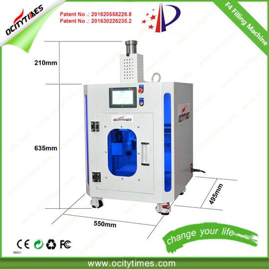 Small Ocitytimes F4 Automatic Cbd Hemp Cartridge Filling Machine