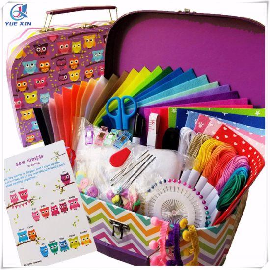 China Sewing Kit for Kids, DIY Craft