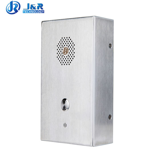 Wall Mounting Call Point Elevator Emergency Intercom System for Apartment
