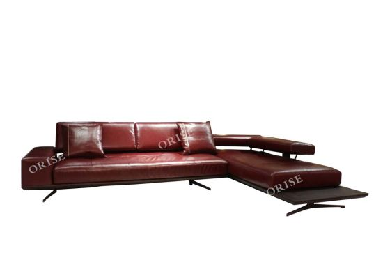 Italian Style Home Furniture Luxury Genuine Leather Couch