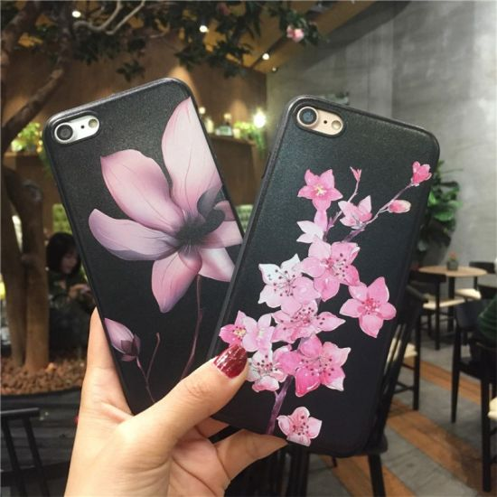 3D Three-Dimensional Flower Mobile Phone Protector pictures & photos