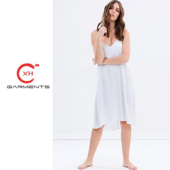 China Xh Garments Pure Heart Silk Sleepwear - China Silk Sleepwear ... 5ea276d8a