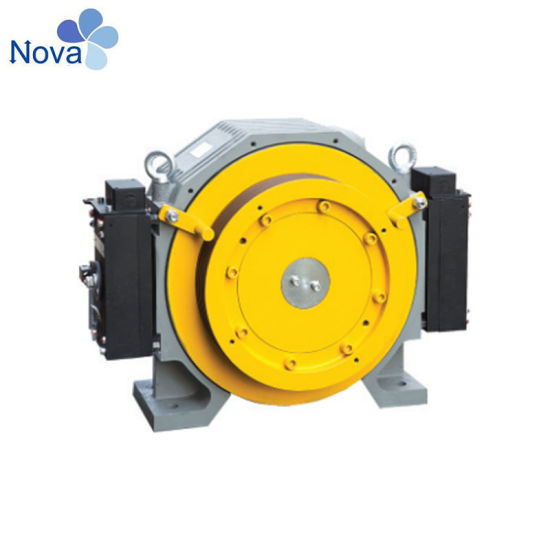 Elevator Gear Traction Machine for The Passenger, Freight Motor