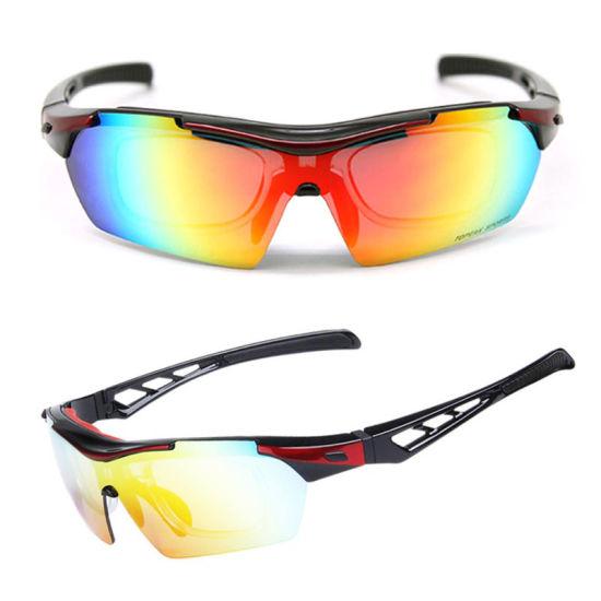 Polarized Mountain Bike Cycling Sport Mens Myopia Frame Customized Sunglasses