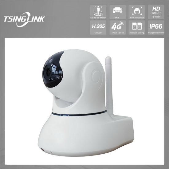 Small Pan Tilt WiFi Wireless Intelligent Monitoring Security Camera