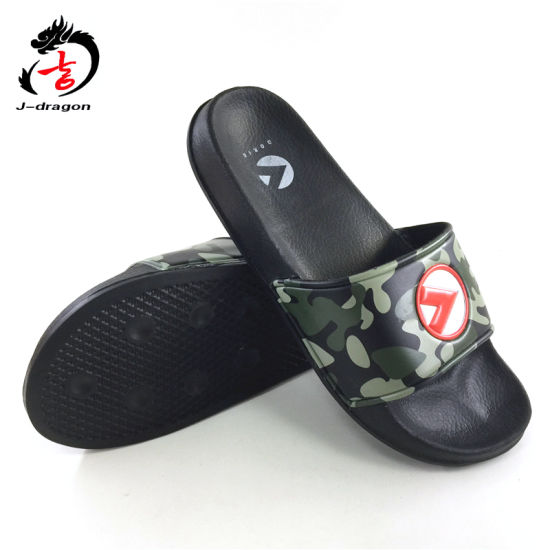 High Quality Camouflage EVA Soft Men′s Slipper Slide Sandals pictures & photos
