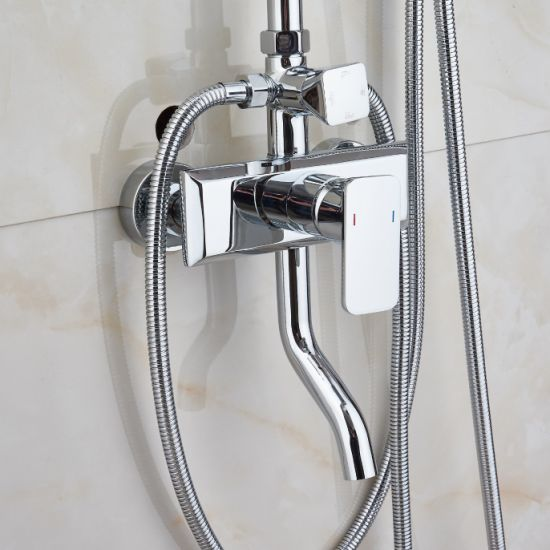 4 Functions Chrome Plated Bathroom Shower Faucet with Bidet Spray