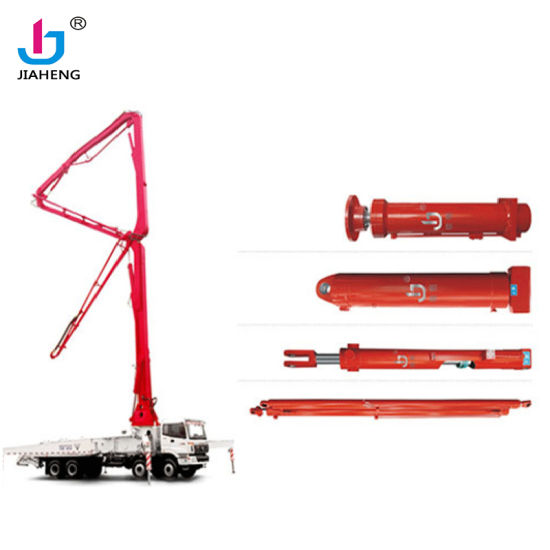 China Factory Design Customized Hydraulic Cylinder in concrete pump truck with Jiaheng brand