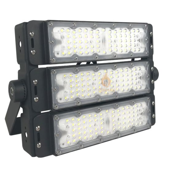 High Quality Waterproof IP65 Outdoor Lamp 150W Modular LED Flood Light