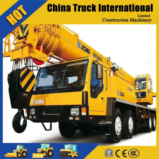 Hot Sale 50 Ton Hydraulic Truck Crane (QY50KA) pictures & photos
