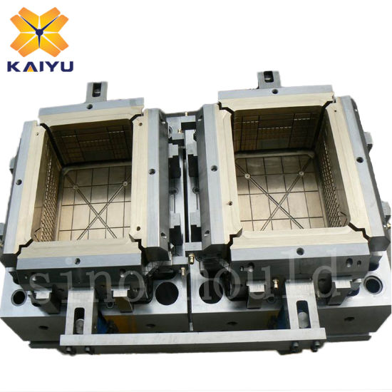 Fruit Vegetable Fish Customized Plastic Basket Crate Injection Mould pictures & photos