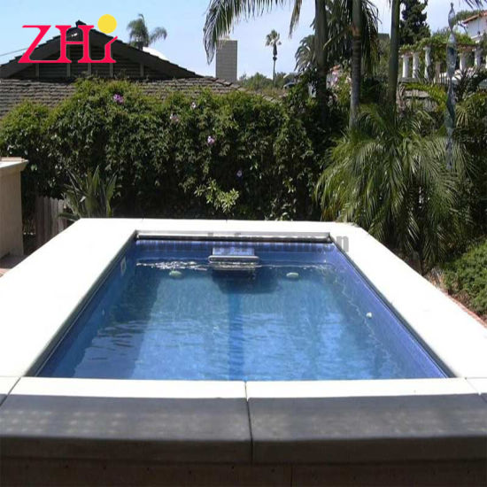 Outdoor Fiberglass Swimming Pool Swim SPA