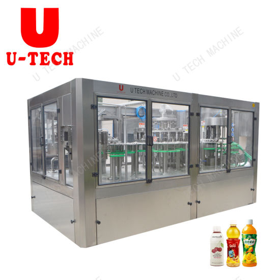 Automatic Fruit Juice Water Pet Bottle Beverage Liquid Filling Packing Bottling Package Machine pictures & photos