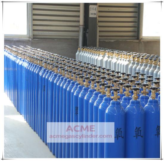 Seamless Steel Argon Nitrogen Oxygen CO2 N2o Gas Cylinder Price