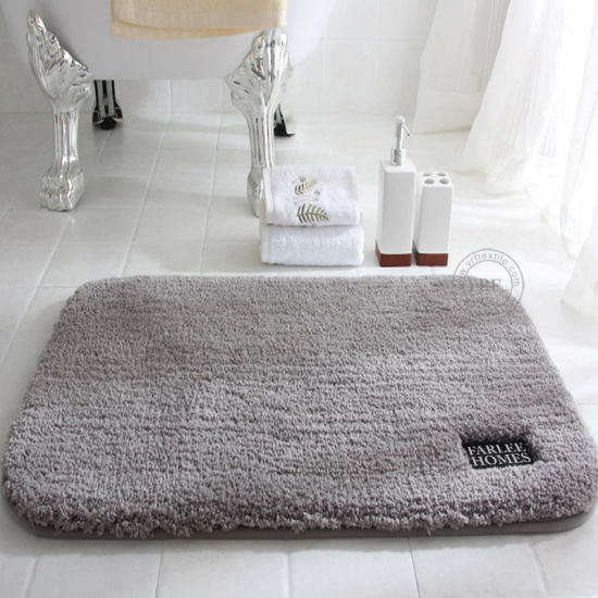 China Bathroom Rug Mat Absorbent Panel