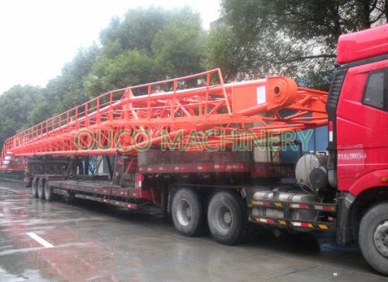 Lattice Boom Port Crane Heavy Duty with Railed Mounted Moving System  Hydraulic Crane