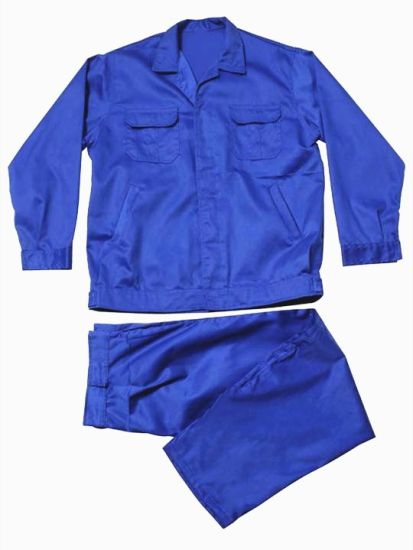 100% Polyester Workwear Safety Coverall Wholesale in Guangzhou pictures & photos
