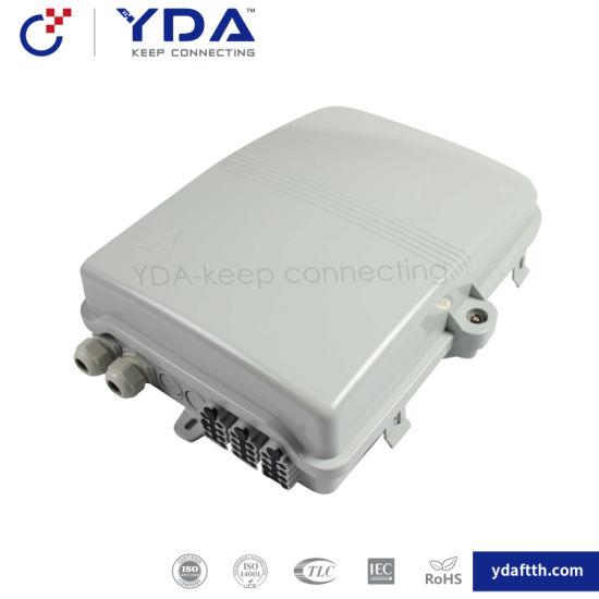FTTH IP65 Yd-dB024A Fat Waterproof Box 24 Port Fiber Optic Plastic Box Distribution Terminal Box