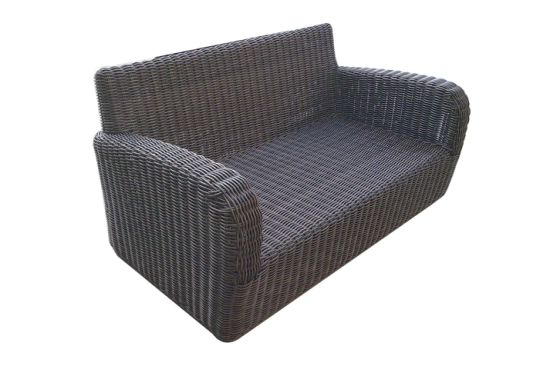 Peachy Outdoor Rattan Furniture Round Wicker Loveseat Garden Furniture S0202 Ocoug Best Dining Table And Chair Ideas Images Ocougorg