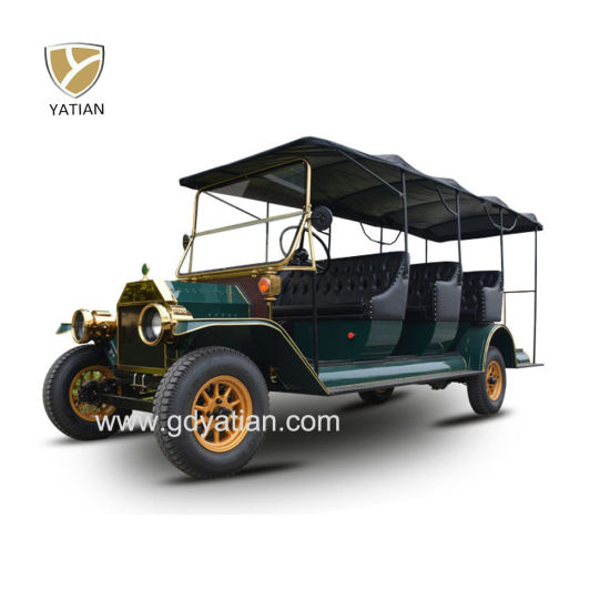City Rental Tourist Sightseeing Classic Car Shuttle Bus with Luggage Rack