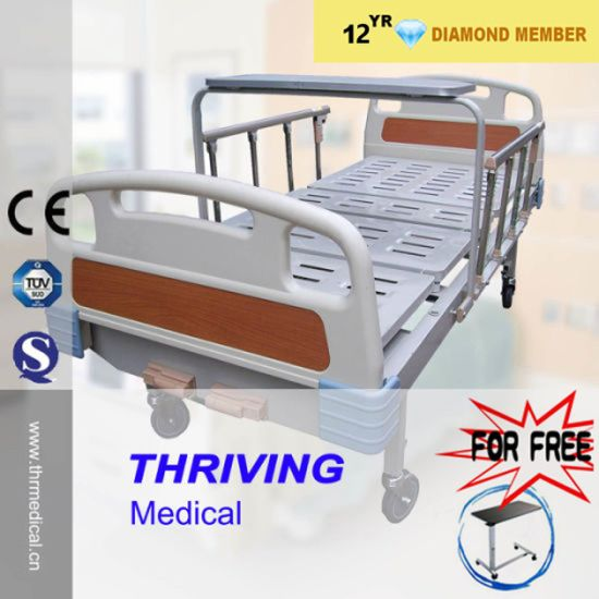 Two Crank Manual Bed with Dining Table (THR-MB220)