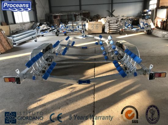 Boat Trailer for 9.6 Meters Boat/ Ce Certification