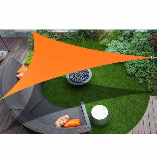 Polyester Tarp Sun Shade Sail Awning and Fence Screen Patio and Canopy Cover