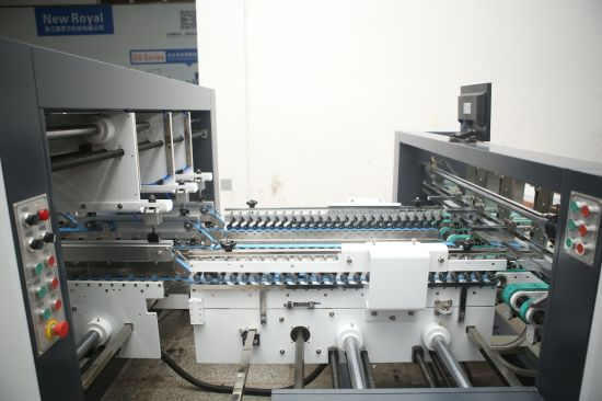 Paper Box Gluing Folding Machine (PCS)
