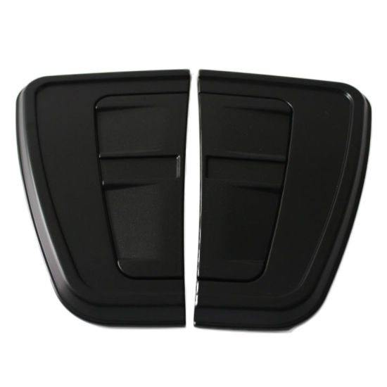 ABS Black Side Wind Cover Hilux 2016 Side Vent Trims Cover Auto Accessories